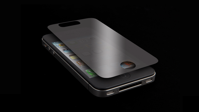 ZAGG privacy screen protector for iPhone