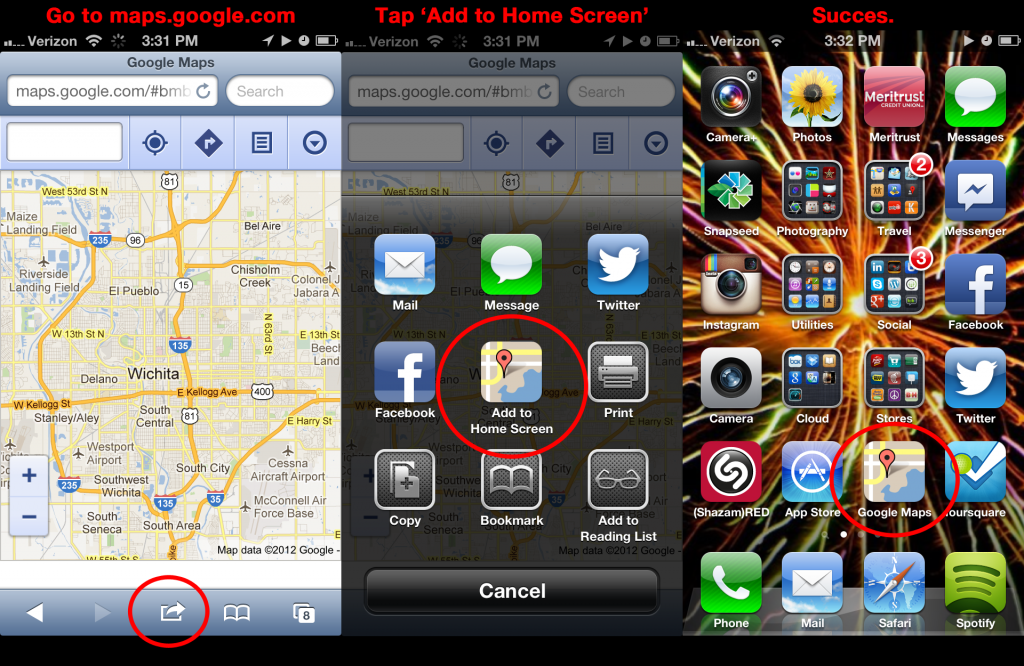add-google-maps-to-ios6-iphone5