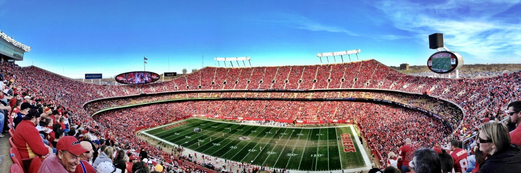 KC Chiefs - Arrowhead Stadium - Taken with Pano on iPhone 4S
