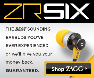 ZR-SIX: Earbuds by ZAGG