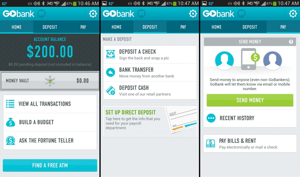 GoBank Android App