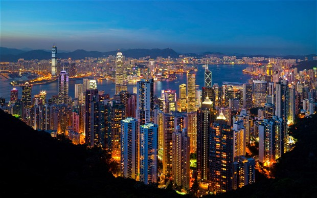 Hong Kong has the fastest Internet in the world, with speeds over 63 Mbps.