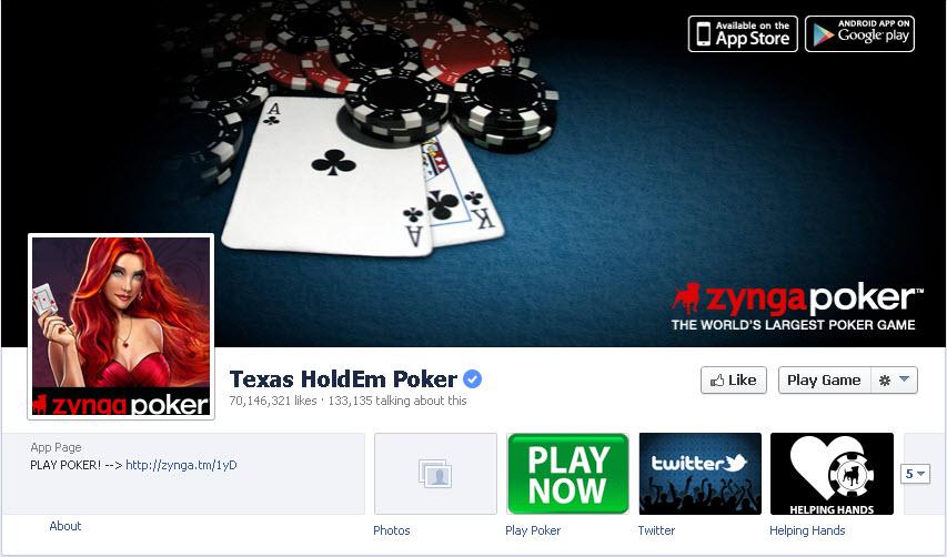 Texas holdem poker in facebook