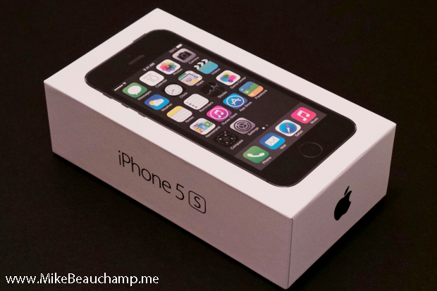 iPhone 5s - Space Gray - Box
