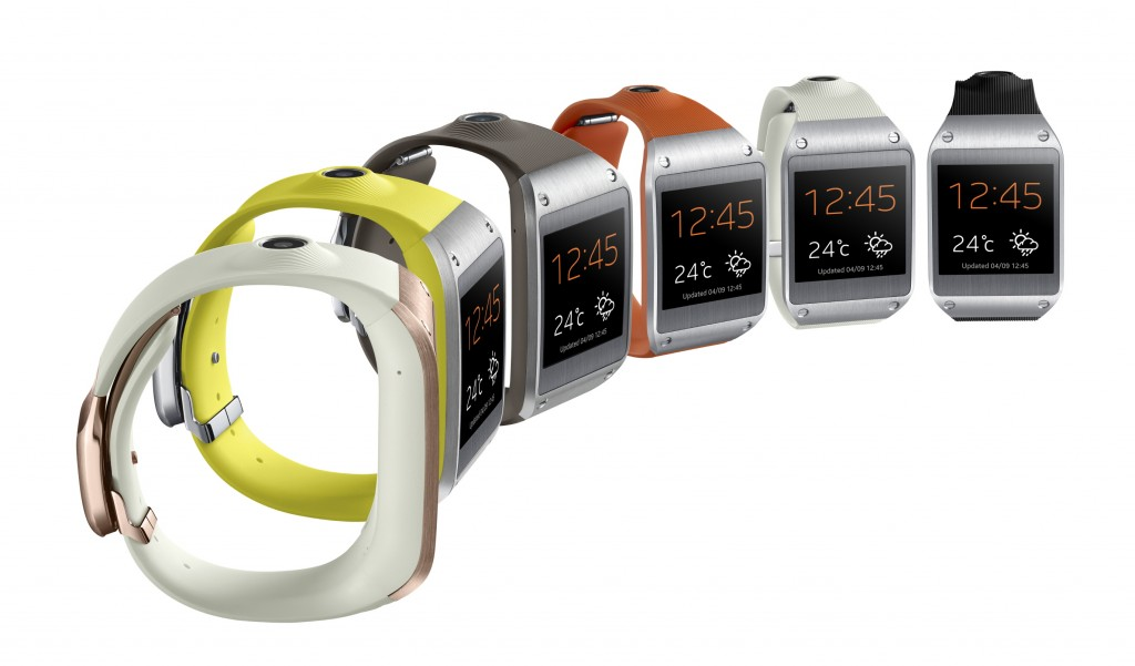 Samsung Galaxy Gear Color Options