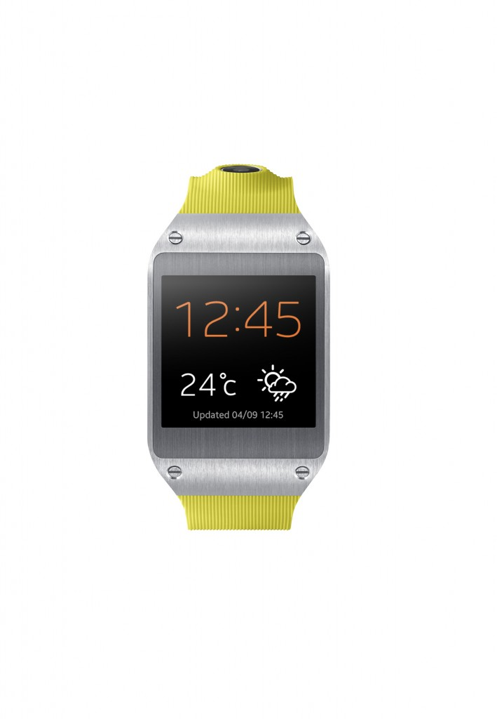 Samsung Galaxy Gear Lime Green Front