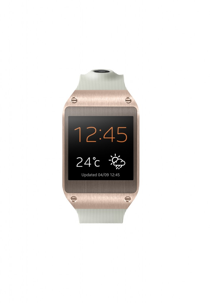 Samsung Galaxy Gear Rose Gold Front