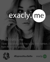 #ExpressYourSelfie with eXacly.me