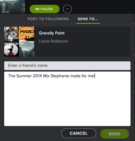 Spotify Sharing