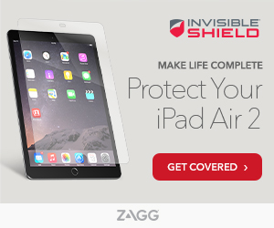 InvisibleShield For iPad Air 2