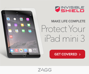 InvisibleShield For iPad mini 3