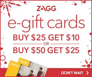 ZAGG Gift Card Promo