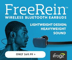 iFrogz FreeRein EarBuds