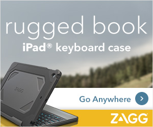 ZAGG Rugged Book Keyboard